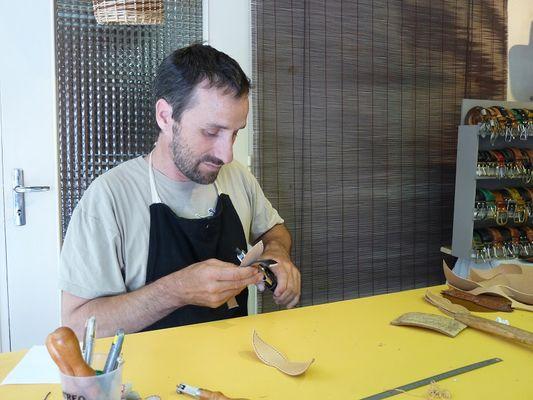 Artisanarium, artisans d'art à Malestroit, Arno Cuir - Morbihan