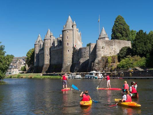 Location canoë-kayak - Paddle - Josselin - Morbihan - Bretagne