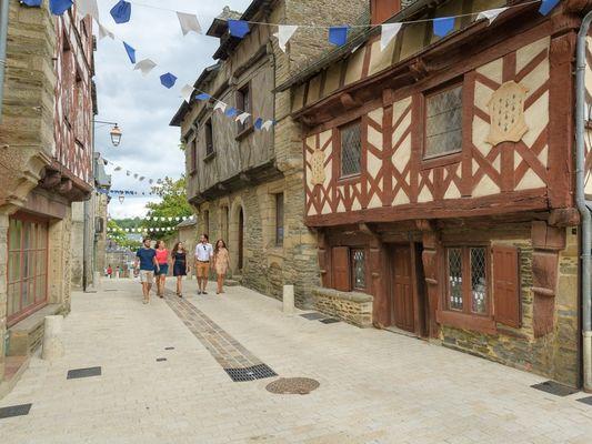 Josselin - Centre historique - Morbihan - Bretagne