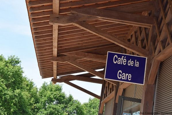 Gare véorail de Médréac - Café