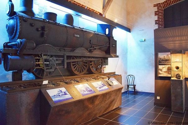 Gare véorail de Médréac - Scénographie