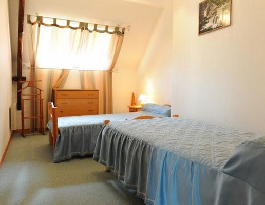 Gîte Bocandé chambre twin - St Marcel - Morbihan - Bretagne