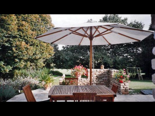 Gîte Ricroch terrasse - Sérent
