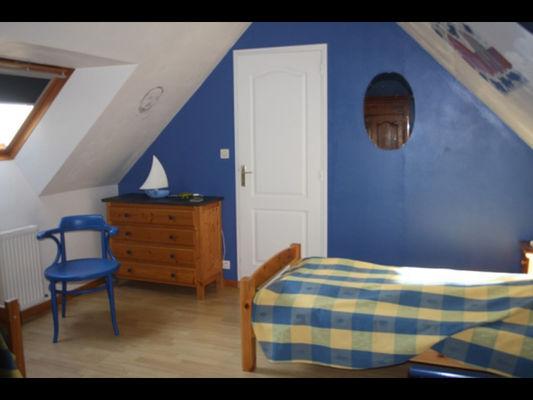 Gîte la Passagère chambre twin - Caro - Morbihan - Bretagne