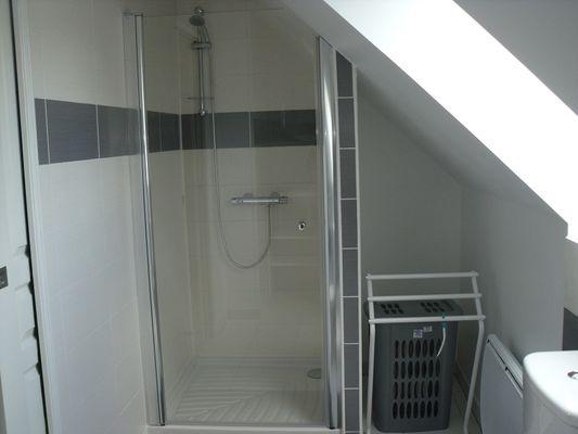 Gîtes de l'Oust studio salle d'eau - Saint-Marcel