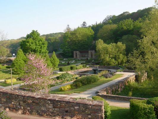 Jardin des Evêques-St Malo de Beignon-Brocéliande-Bretagne