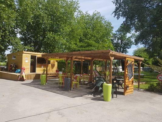 Le Bar'Roc - Camping Domaine du Roc - Le Roc Saint-André - Val d'Oust
