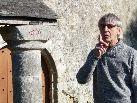 Les secrets de la chapelle Sainte-Catherine avec Gérard Legrand - Lizio - Morbihan - Bretagne
