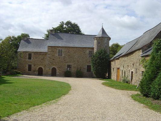 Manoir de la Touche Carné façade