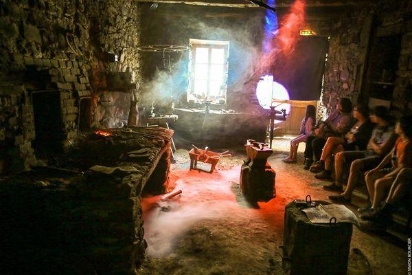 Musee de la forge - Scenographie