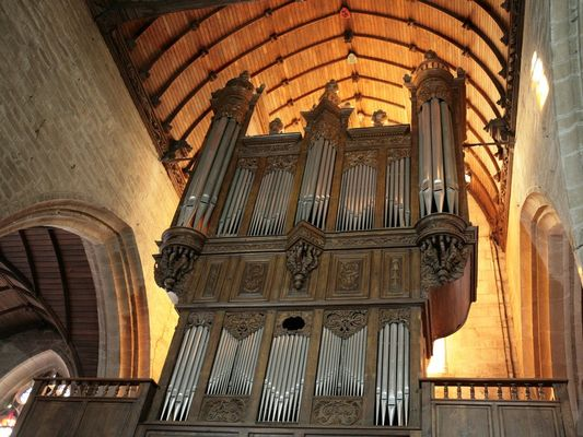 Orgues de la Basilique Notre-Dame du Roncier - Josselin