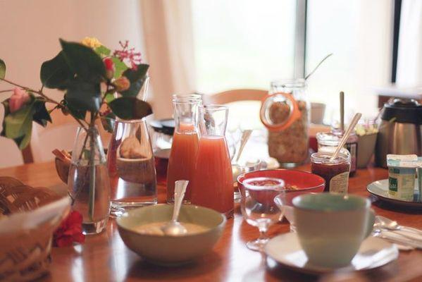 Petit dejeuner La Hulotte - St-Malon-sur-Mel