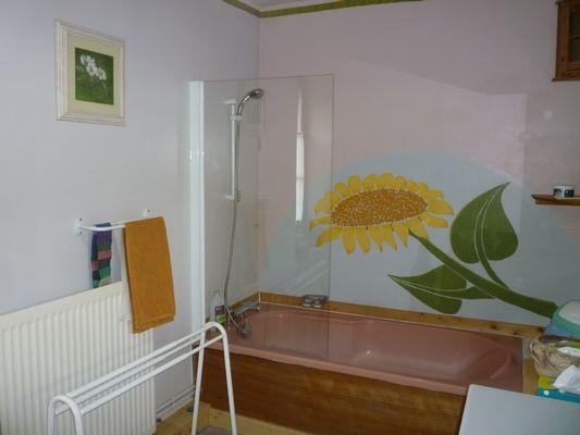 Terre Compagne - chambre a l'etage de la maison Salle de bain