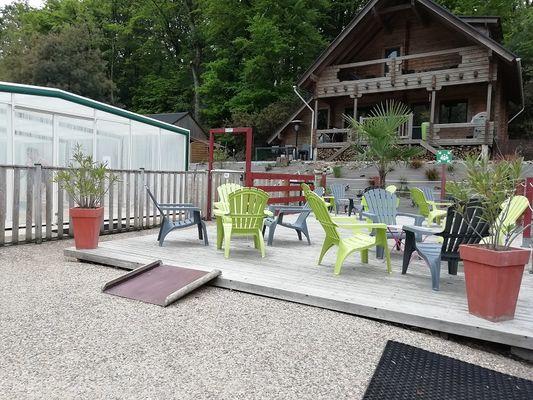 Camping domaine du Roc - Val d'Oust - détente - piscine - Morbihan