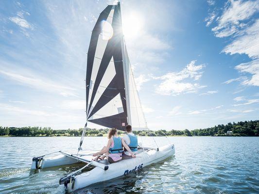 Club nautique - lac au Duc - Ploërmel - Taupont - Brocéliande - Bretagne