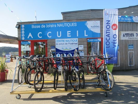 location vélos - club nautique - Taupont - Brocéliande
