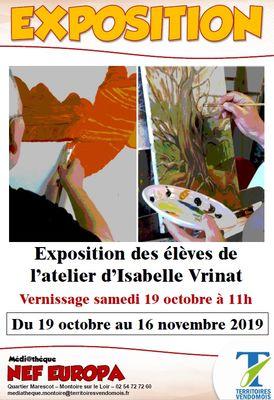 Exposition Ned Europa à Montoire-sur-le Loir