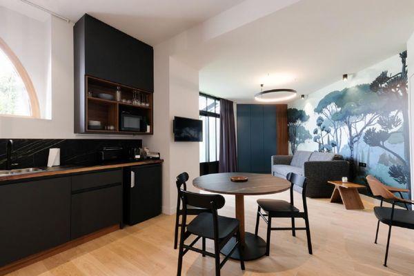 Appart Hôtel - Appartement chez Béatrice - Cuisine