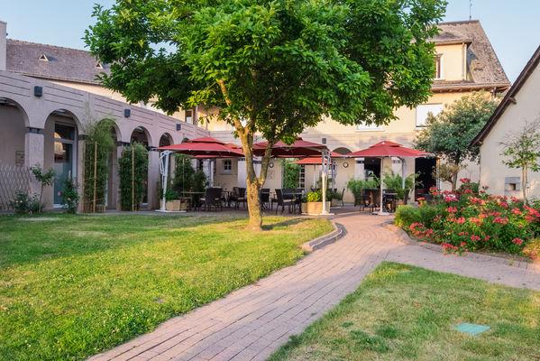 l'ermitage hotel & restaurant, hotel laval, restaurant laval, séminaire laval, hotel sable-sur-sarthe (61)