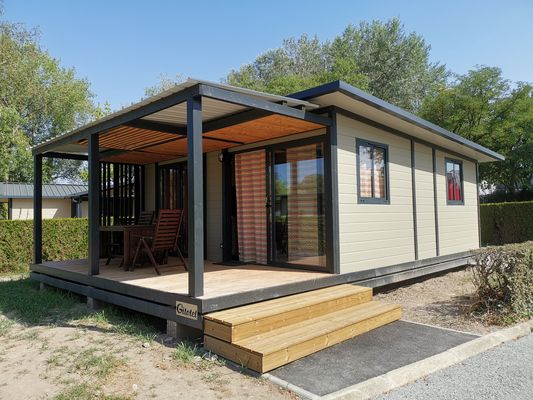 HPA53 - chalet - camping d'Evron