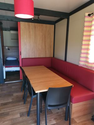 HPA - interieur - chalet - camping d'Evron