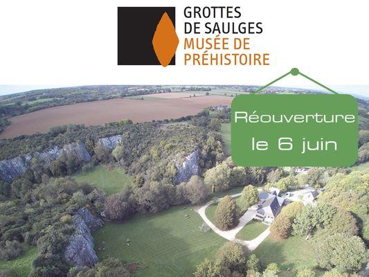 FMA53 - Reouverture musee de prehistorie et grottes le 6 juin