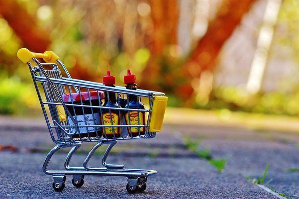 Supermarché courses