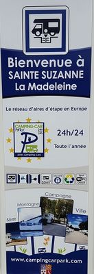 camping-car park ste suzanne