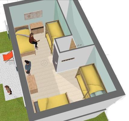 Aménagement de l'étage