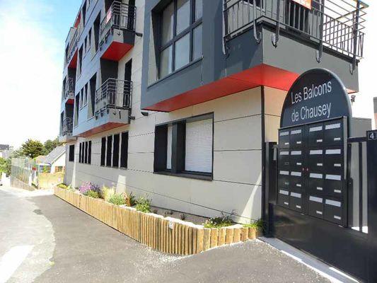 Donville les Bains_Meublé Les Balcons de Chausey (1)