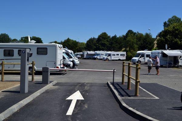 Saint-Pair-sur-Mer_aire de camping-cars_1