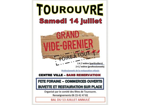 Vide greniers Tourouvre