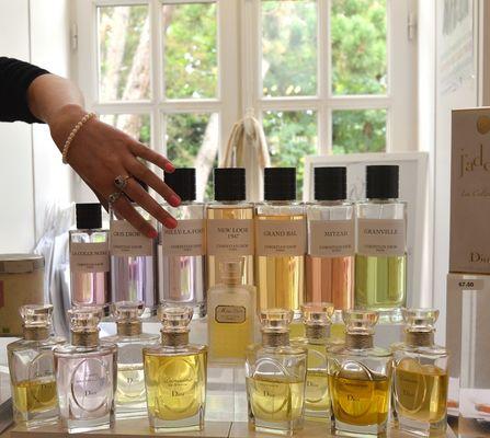 apprenti parfumeur Dior