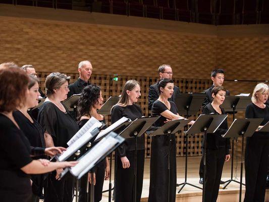 Septembre Musical de l'Orne - Choeur Accentus