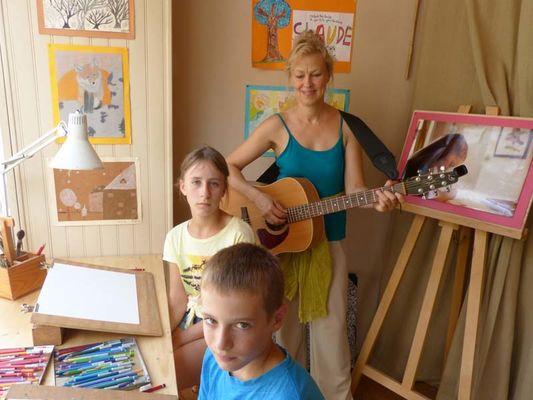 Atelier conte chanson peinture - Rémalard