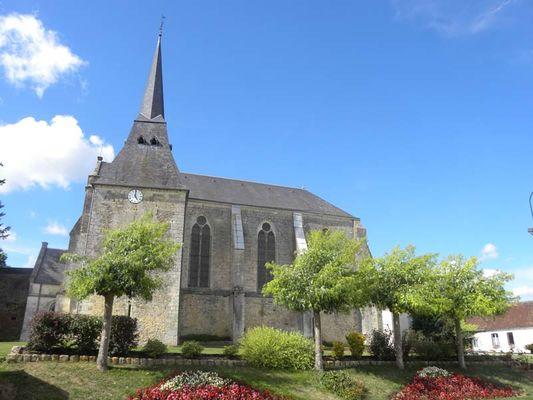 Eglise St Martin du Vieux Bellême