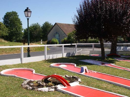 Mini-golf - Mauves sur Huisne