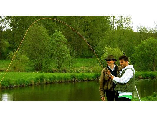 Pêche à la mouche - Moulin de Gémages