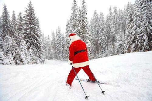 2018_Père Noël en ski