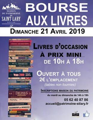 Bourse aux livres 2019