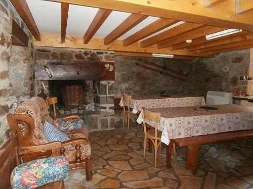 Cuel Gîte Le Saugué-salle à manger
