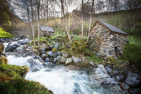 Moulins à eau de Gèdre Dessus (1)