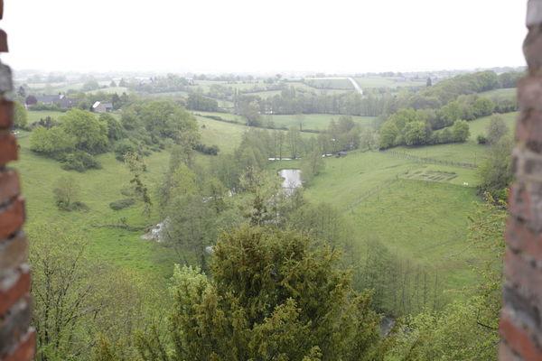 HLO53 - Les jardins suspendus du Ravelin - vue de la petite chambre