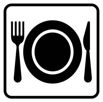 Pictogramme restaurant