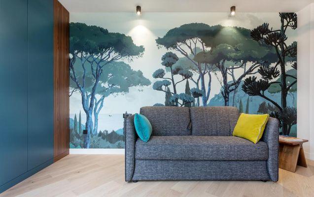 Appart Hôtel - Appartement chez Béatrice - Coin salon