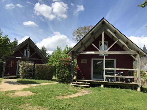 chalet n°1 et 2 Camping du Bac Ménil