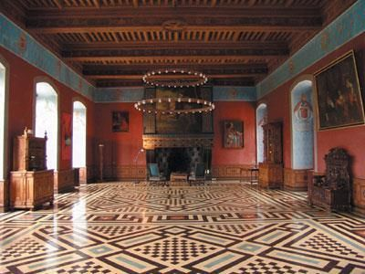 Salle des gardes, Château d'Ancy le Franc