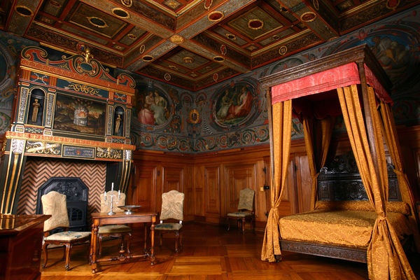 Château d'Ancy le Franc, Chambre des Arts