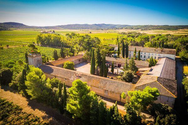 Chateau du grand Caumont-Lezignan Corbieres_2