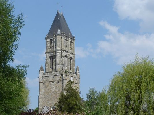 Eglise Notre Dame d'Orbec, clocher